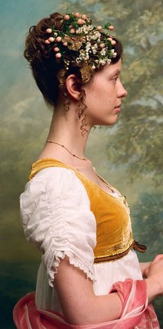 From the EMMA. photo I took of as Harriet Smith during a test with hair and makeup designer, Marese Langan, costume… Cultura Pop, Emma Movie, Emma Jane Austen Movie, Emma Woodhouse, Love Culture, Portraits, Pride And Prejudice, Period Dramas, Costume Design
