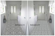Italiensk #16 & #20 Love these tiles!