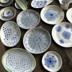 Plates by Julie Spako Instagram.com/spakoclay