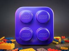 Lego Brick Icon- I love this lego app- being a big fan of the toy the way they have created a nice reflective surface works well for the plastic block