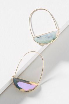 Shop the Stone Crescent Hoop Earrings and more Anthropologie at Anthropologie today. Read customer reviews, discover product details and more.