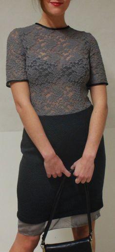 Grey lace #Aéstyle