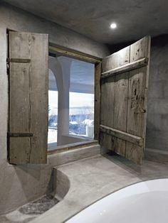 Concrete Design Ideas for your bathroom - Tadelakt House Design, New Homes, Rustic House, Scandinavian Home, House, Concrete Design, Home, My Scandinavian Home, Tiny House Furniture