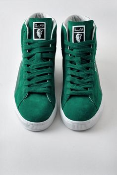 Puma X Shinzo Sneakers High Tops Green