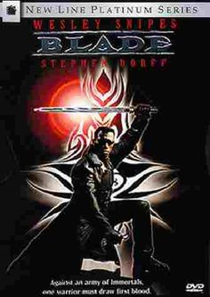 Released in 1998, this movie is credited with reviving the superhero/comic book genre.  Thank you Blade!!!!!