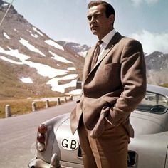 Anthony Sinclair hacking jacket and suit (Goldfinger).