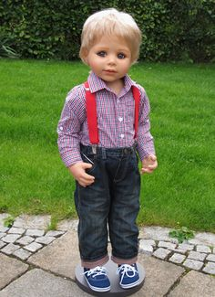 Andy by Monika Peter-Leicht blonde (Fraternal Twin of Ann) - Master Piece Dolls