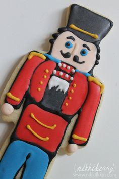 Nutcracker Cookies by nikkiikkin on Etsy, $54.00