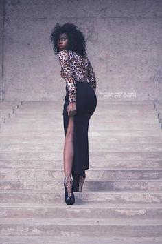 blackfashion: Submitted by Model: Phylicia Benn, Pretty Black Girls, Black Girls Rock, Black Is Beautiful, Black Girl Fashion, Womens Fashion, Old Hollywood Glamour, Black Models, Fashion Show, Fashion Photography