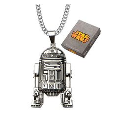 Star Wars R2-D2 Pendant Necklace - Body Vibe - Star Wars - Jewelry at Entertainment Earth