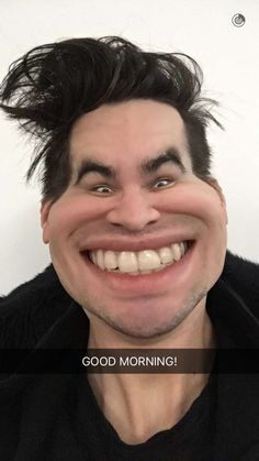 When you just wake up and someone cheerfully says good morning!!!I'm literally dying!!!