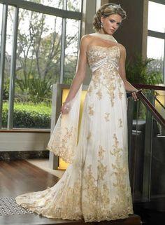Champagne Lace Prom dress Ball Gown Bridesmaid Dress Wedding dress | eBay, under £60