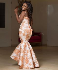 African Bridesmaid Dresses, African Lace Dresses, African Fashion Dresses, Aso Ebi Lace Styles, Lace Dress Styles, Lovely Dresses, Jean Dress Outfits, Bride Reception Dresses, African Traditional Dresses