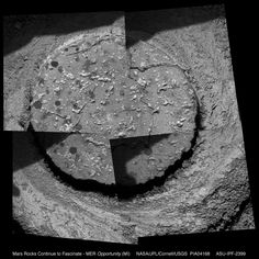 Mars Rocks Continue to Fascinate Mars Planet, Microscopic Images, Robot Arm, Our Solar System, The Martian, Smudging, Drill, Opportunity, Mosaic