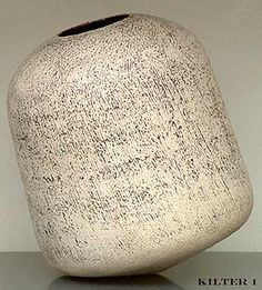 Ceramics by Val Brien at Studiopottery.co.uk - 2009 Kilter 1.  Size 8 x 7 x 6.5 inches approx.