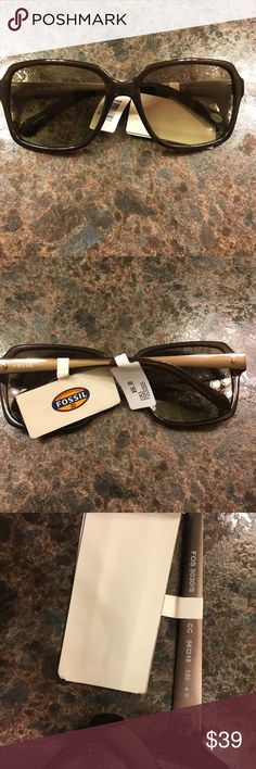Fossil FOS3030S!  Brown!  New with tags! Authentic Fossil FOS3030S!  Brown!  New with tags! Fossil Accessories Sunglasses