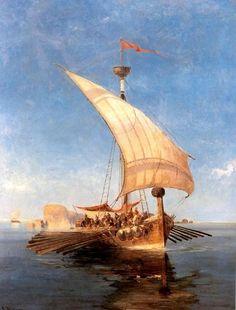 The Argo - Konstantinos Volanakis  19th century