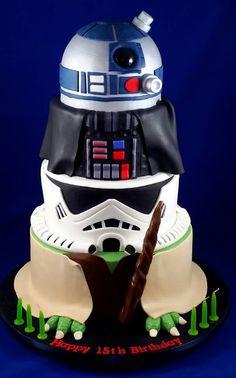 #StarWars cake!