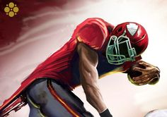 """KC Chiefs  """"Speed and Bleed""""  by Chris Sembower"""