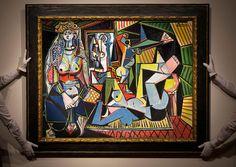"""Pablo Picasso, """"Les femmes d'Alger (Version 'O'),"""" 1955"""