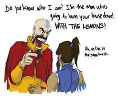 The VA who did Tenzin in Legend of Korra also did Cave Johnson in Portal 2.