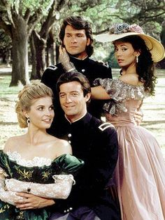 'North and South' -- A Look Back North & South miniseries - starring Patrick Swayze and a young Kristie Alley - need I say more! :)North & South miniseries - starring Patrick Swayze and a young Kristie Alley - need I say more! Dirty Dancing, Old Movies, Great Movies, Film Scene, Lisa Niemi, Civil War Movies, Image Film, Bon Film, Cinema Tv