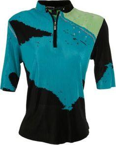 Bold ladies golf shirt, lightweight too