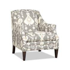 Sam Moore Lark Club Chair Finish: Classic, Upholstery: 2723 Cobalt