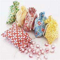 Home a la mode - birthday treat bags