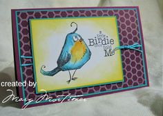 CC535, JUN15VSNG, A Little Bird by Margscardcrazy - Cards and Paper Crafts at Splitcoaststampers