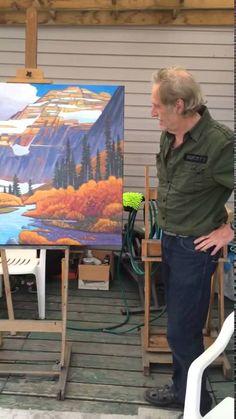 Nicholas Bott Artist Interview Canadian Painters, Canadian Artists, Chicago School, Group Of Seven, Artist Studios, Large Canvas, Art Studies, Various Artists, Vincent Van Gogh