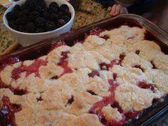 da minha cozinha: Torta de Amora Silvestre
