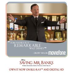 Share your favorite Walt Disney moment from #SavingMrBanks and own the film now on Blu-Ray and Digital.