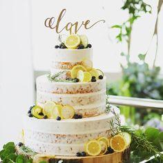 ナチュラルな雰囲気がかわいいウェディングケーキは当店のケーキトッパーをご購入していただいたお客様のお写真♡ご使用していただいたケーキトッパーは【Love/MS calligraphy】 です♡シンプルでおしゃれなケーキにゴールドのケーキトッパーがよりおしゃれさを引き立ててますね!ありがとうございました♡ Lavender Cake, Elegant Wedding Cakes, Wedding Cake Inspiration, Themed Cakes, Amazing Cakes, Wedding Bouquets, Cake Toppers, Cake Decorating, Bridal Shower