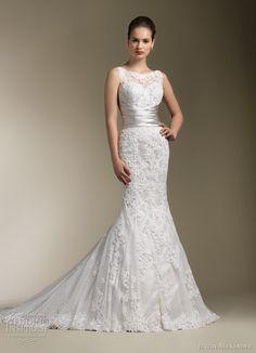justin alexander wedding dress 2012