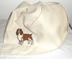New to our Etsy store - english springer spaniel tea towels! Hooray for kitchen chores the world over...right?