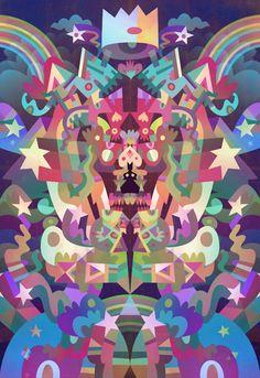 Matt Lyon #illustration #vector