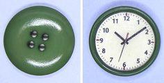 how to: dollhouse wall clock
