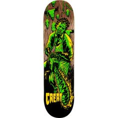 Creature Skateboards - Taylor Bingman deck. If anyone hooks me up with this deck, I'll be eternally grateful.