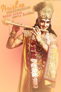 Krishna, he who is both Govind (protector of cows) and Madhav (husband to the goddess of fortune, Lakshmi)