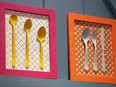 veja o procedimento para montar o quadro em : http://www.bemsimples.com/br/artesanato/58220-quadro-para-cozinha