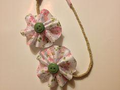 https://www.facebook.com/pages/Scott/136006899856827  #scott #headband #diy #hemp #braid #babies #kidstuff #fb #floral #pink #mintgreen #mint #cute #buttons #white