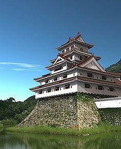 萩城 Japanese Castle, Japanese Art, Nihon, Japan Travel, Castles, Culture, Mansions, Landscape, Architecture