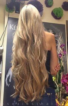 cheveux tres long