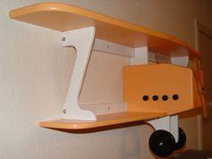 Airplane shelf.