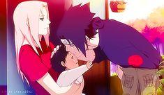 Sasusaku - Soooooooooo adorable!