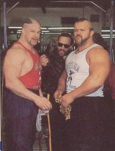 Road Warriors and Paul Ellering The Road Warriors, Wwe Pictures, Ready To Rumble, Wrestling Superstars, Superman Wonder Woman, Space Mountain, Ric Flair, Professional Wrestling, Wwe Wrestlers
