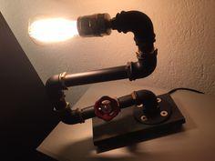 Lampe, Sanitär, individuell Steel