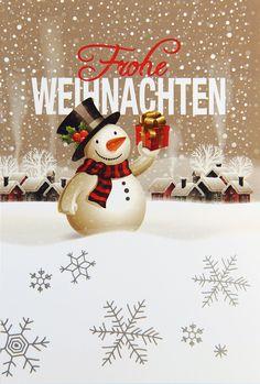 Ist er nicht süß, der kleine Schneemann auf der #Weihnachtskarte? ☃️ Möchte man sich nicht von ihm beschenken lassen? 💫 Zumindest gute Wünsche bringt der kleine Kerl daher, wenn Sie #Weihnachtskarten mit diesem Motiv bestellen und an Familie, Freunde und Geschäftspartner versenden.... Christmas Cards, Snoopy, Fictional Characters, White Christmas, Snowman, Xmas Cards, Ship It, Winter Scenery, Friends