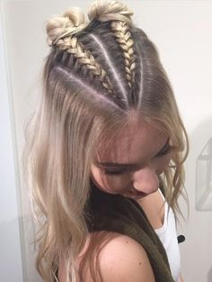 Peinados MELISSA En 2019 Trenzas Cabello Suelto Pelo Trenzado Y - hairstyles trenzas suelto hairstyles trenzas semirecogido French Braid Hairstyles, Ponytail Hairstyles, Pretty Hairstyles, Cute Hairstyles With Braids, Braids For Thin Hair, Hairstyle Ideas, Easy Hairstyles For Thick Hair, Braided Hairstyles For Long Hair, Mixed Hairstyles